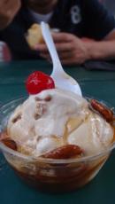 Ice-cream, Mont Tremblant