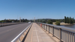 View over the bridge in Canberra