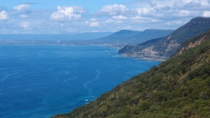 A beautiful view including the Seacliff Bridge