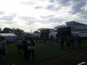 Grass stage
