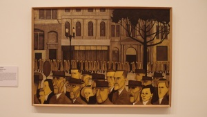 Collins St., 5pm by John Brack