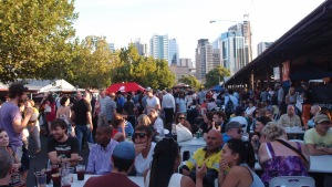 Bustling Victoria Night Markets
