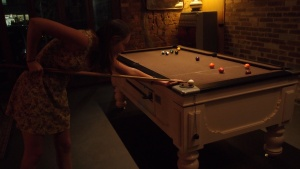 Some pool at the Evelyn on Brunswick St