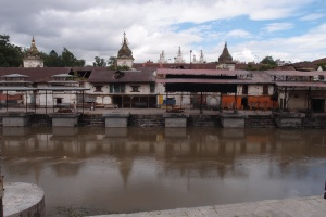Ghats at Pashupatinath Temple