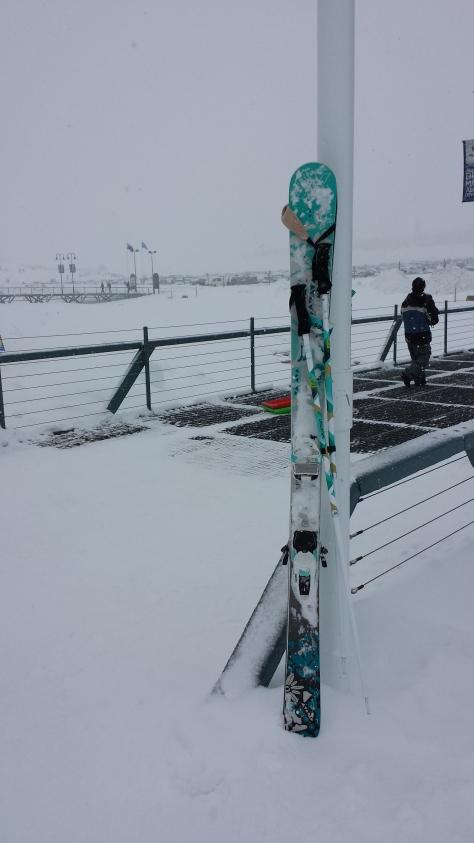 My new Kenjas in plenty of snow