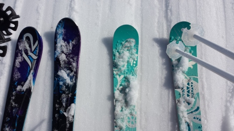 Our happy skis