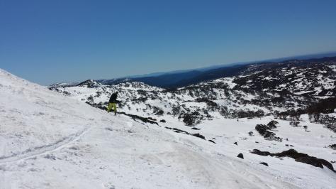Dad skiing Olympic