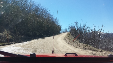 Windy Guthega Road